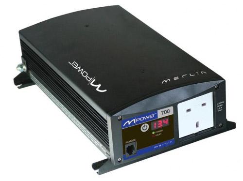 Merlin - M-Power 700 Sine Wave DC/AC Inverters Image