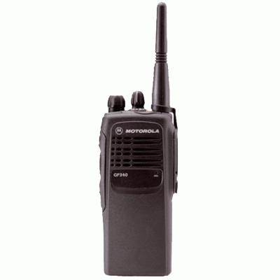 Motorola GP340 Analogue Portable Two Way Radio Image