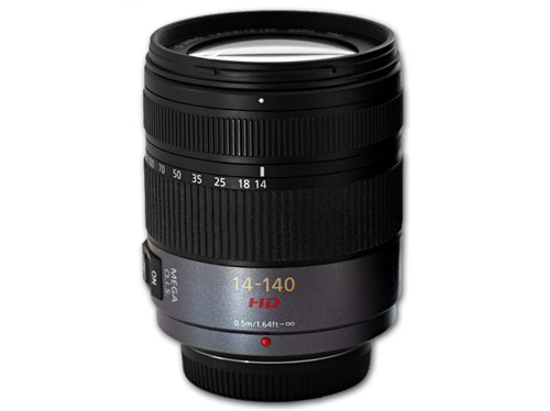 Panasonic - Lumix H-VS014140E Zoom lens - 14-140 mm - F/4.0-5.8 - Micro Four Thirds Image