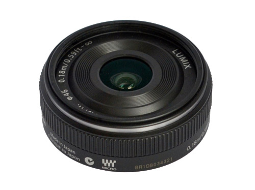 Panasonic - Lumix H-H014E Lens - 14mm - F/2.5 - Micro Four Thirds Image