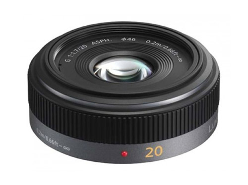 Panasonic - Lumix H-H020E Lens - 20mm - F/1.7 - Micro Four Thirds Image
