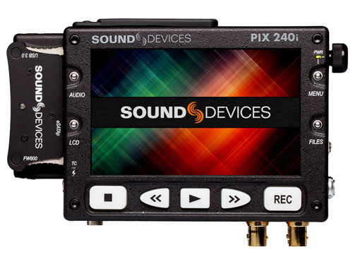 Sound Devices - PIX 240i Image