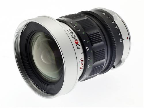 Kowa Prominar 8.5mm F2.8 Image