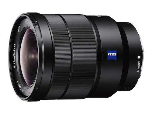 Sony Vario-Tessar T* FE 16-35mm f/4 ZA OSS Lens Image
